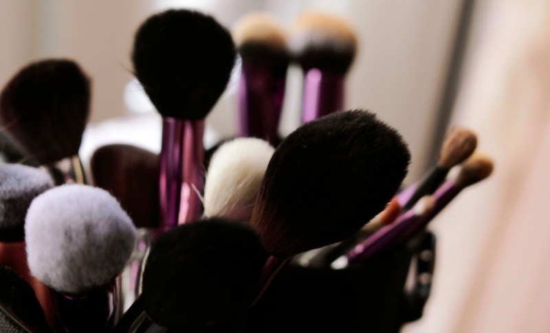Make Up Brushes Portrait Photography Studio Amsterdam
