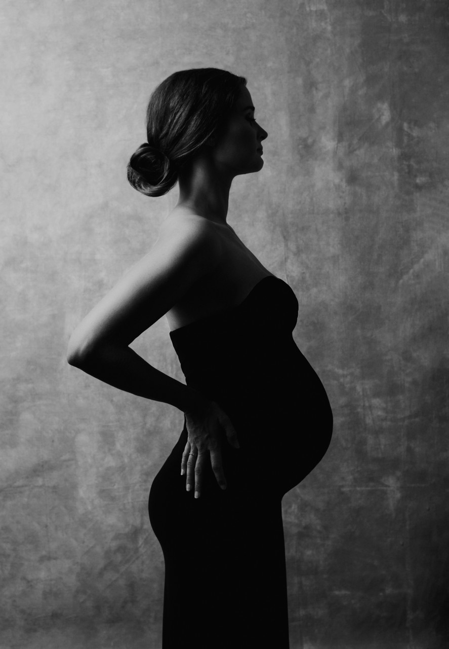 Silhouette Maternity Photo Amsterdam Bettina Battaglia