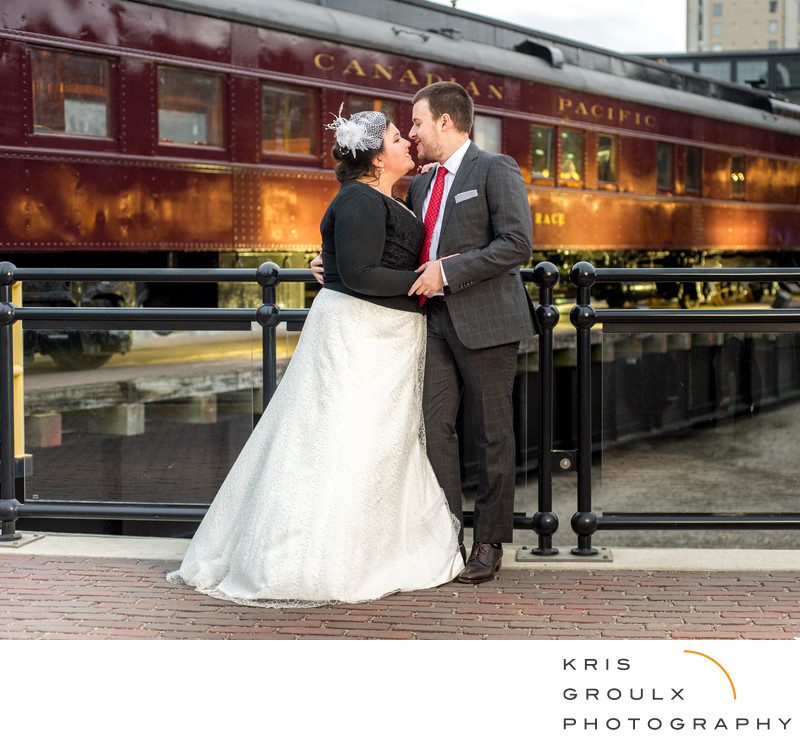 Steam Whistle brewery wedding photography