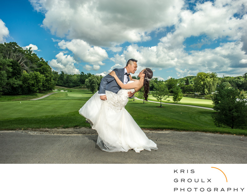 Bayview golf course wedding
