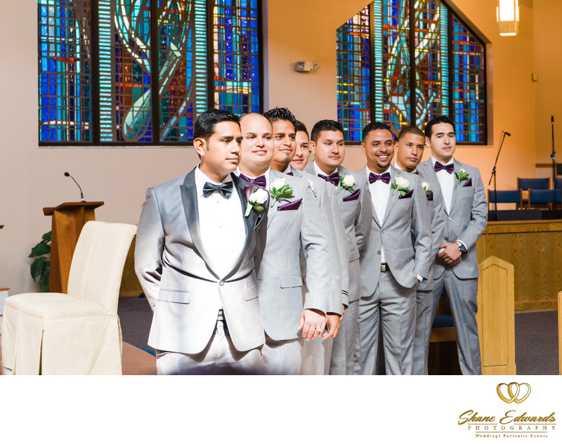 Holy Cross Church Wedding