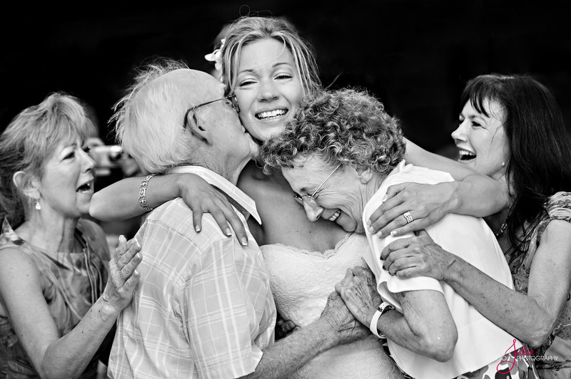 A familyMoment at a Key West Wedding -Candid