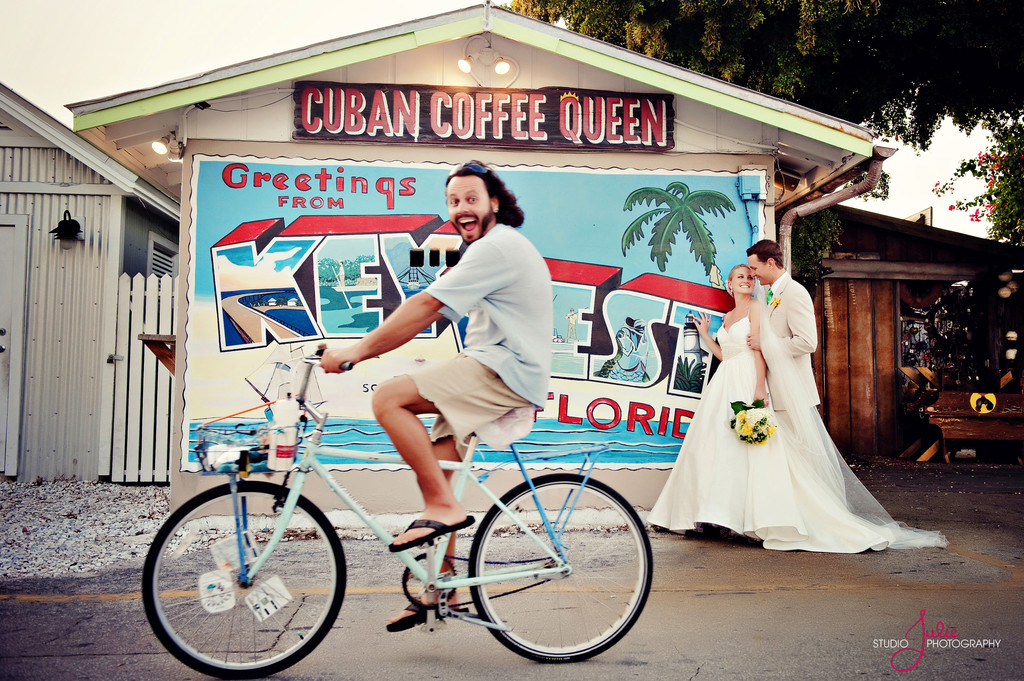 Key West fun portrait Cuban Coffee Queen
