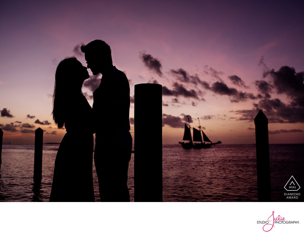 Key West Engagement photography Studio Julie