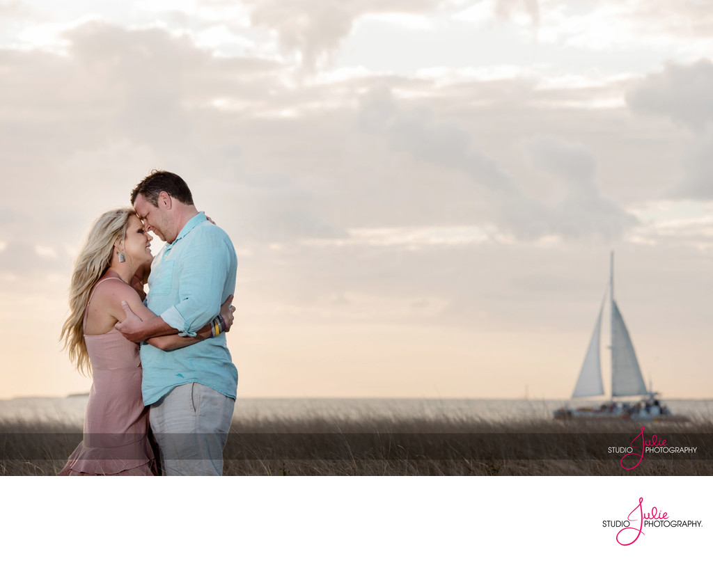 Family Photography in Key West at Sunset
