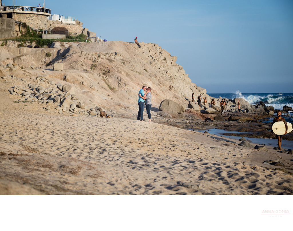 Same Sex Couple Engagement in Cabo San Lucas