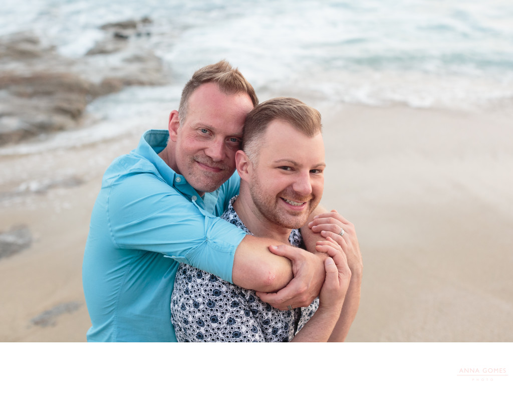 Cabo Engagement Photos for Same Sex Couple