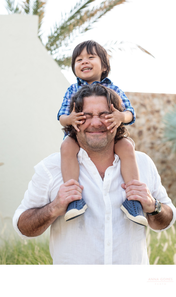 The Resort at Pedregal Father and Son Portraits