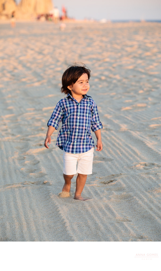 Cabo Beach Toddler Photos