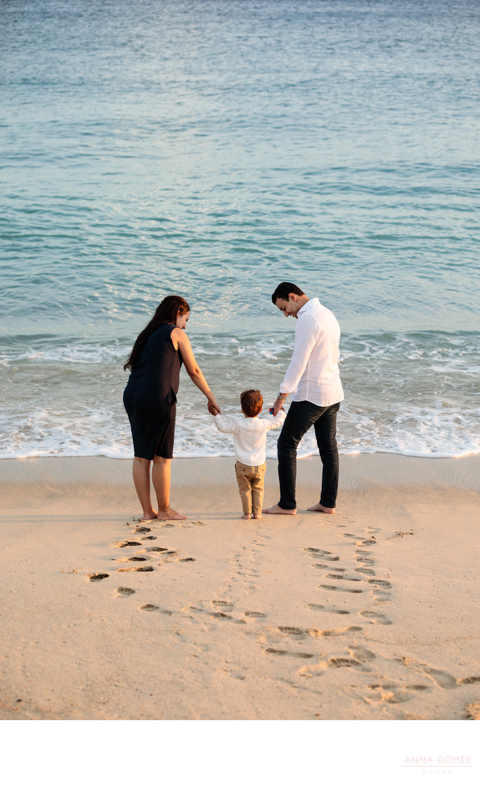 Puerto Los Cabos Beach Family Photos