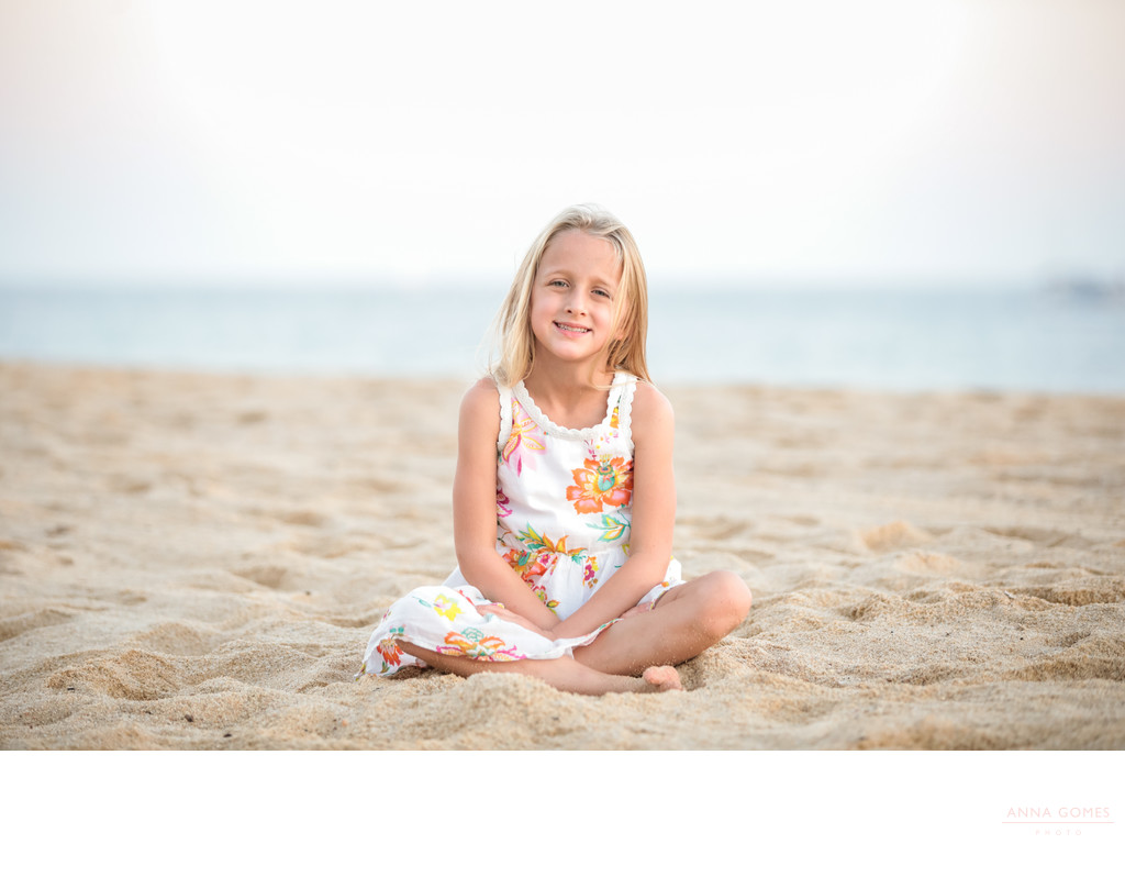 Cabo San Lucas Beach Kid Portraits