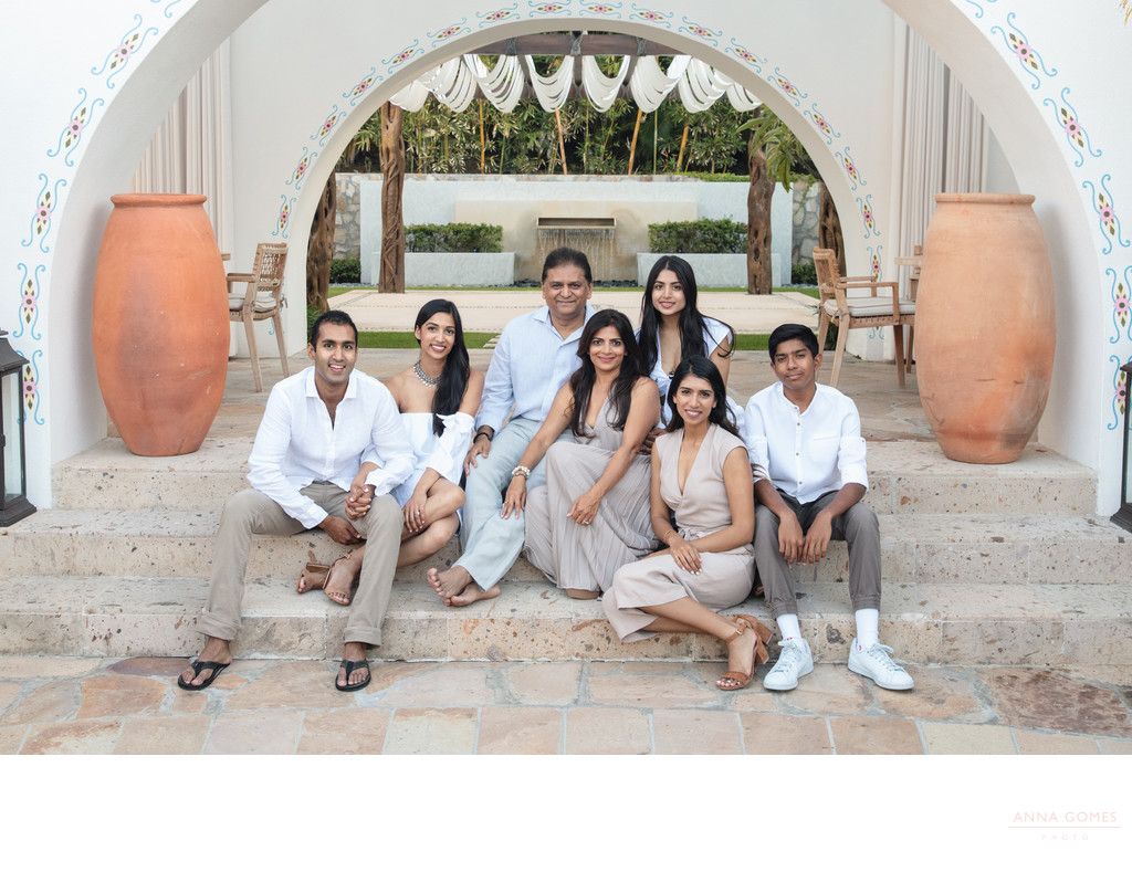 One and Only Palmilla Family Photos