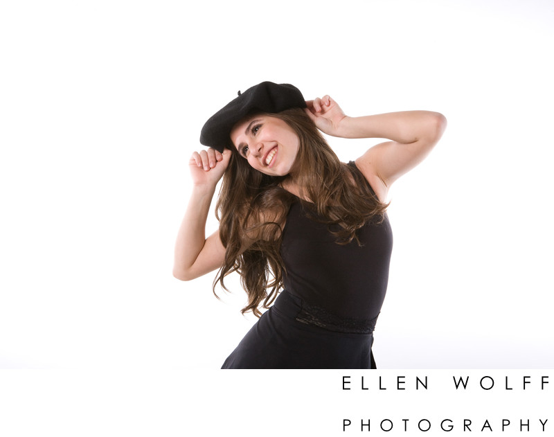 Westchester Bat Mitzvah portrait photographer