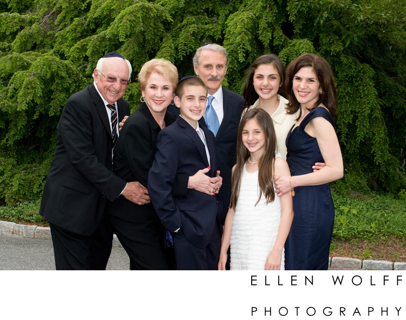3 generations JCC Harrison Bar Mitzvah photographer