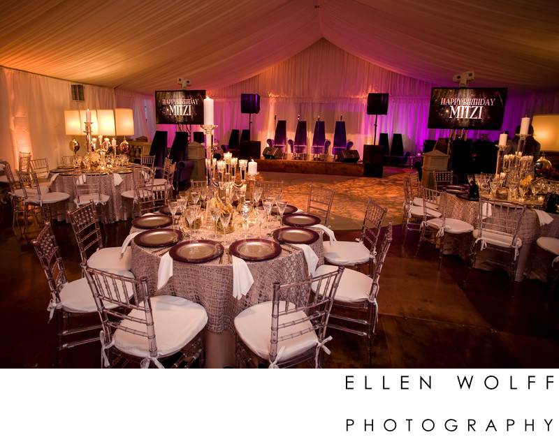 Luxury event photography
