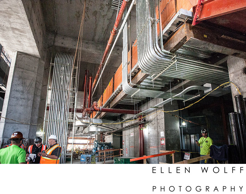 conduit installation 10 hudson yards