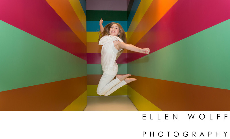fun photo at the color factory