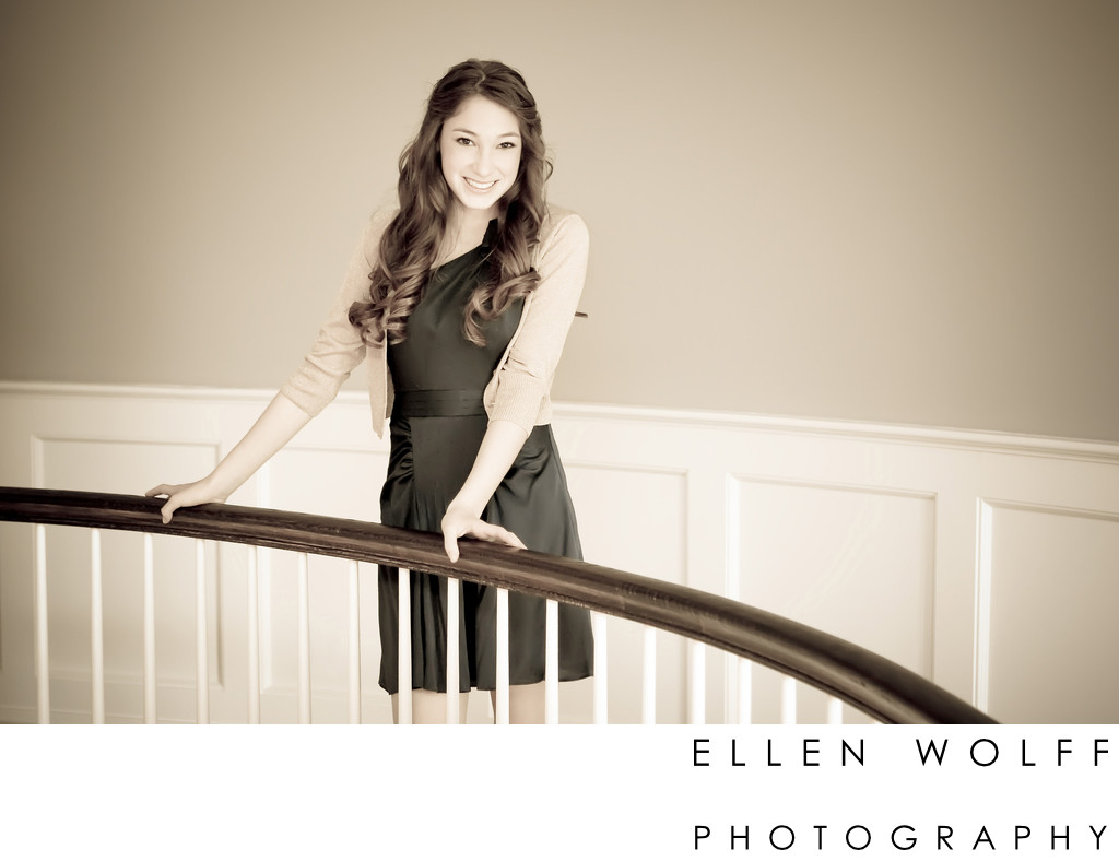Best Westchester Bat Mitzvah portrait photographer