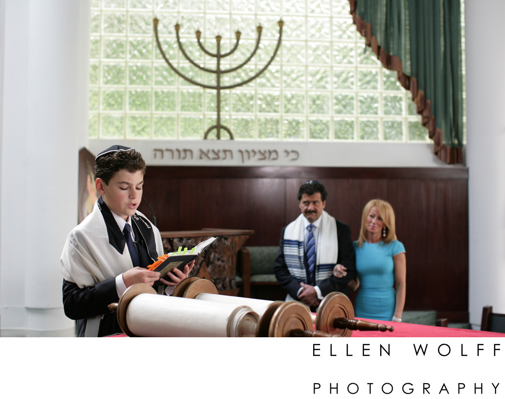 Woodbury Jewish Center Bar Mitzvah photographer
