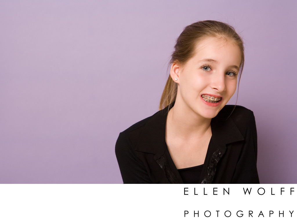 Long Island Bat Mitzvah portrait photographer