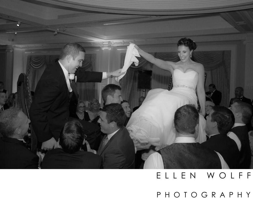 Wedding hora at The Muttontown Club