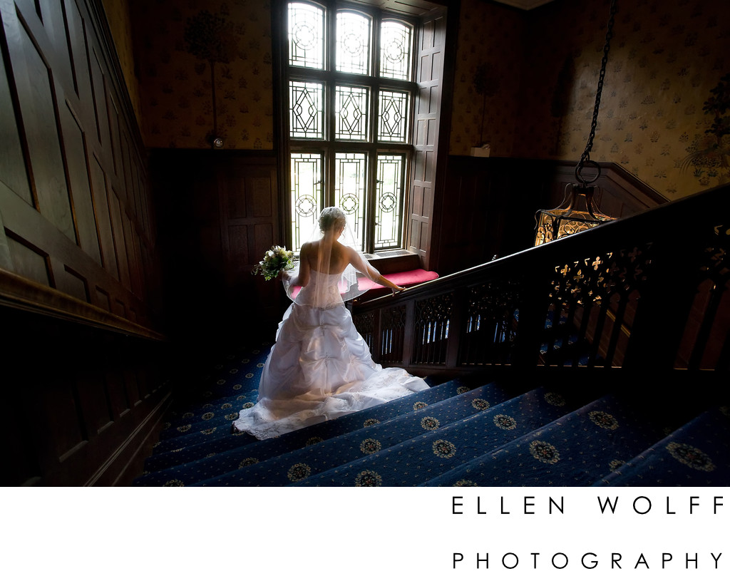 Waveny House wedding photo