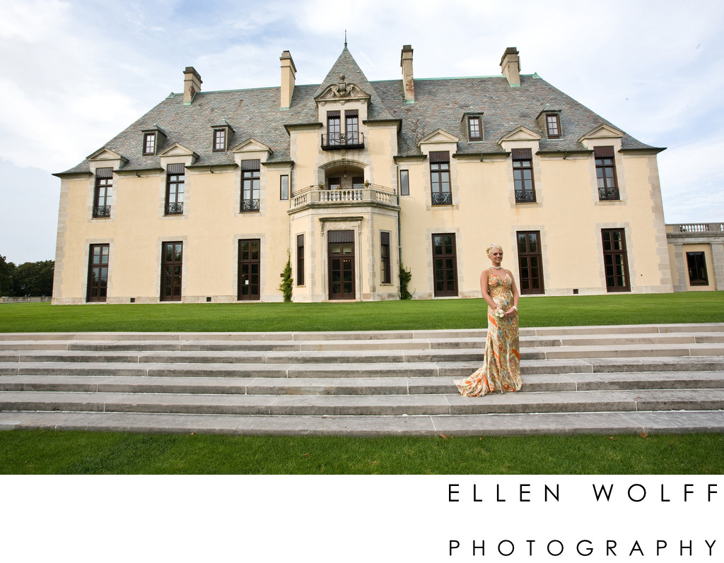 sweet 16 portrait at oheka castle