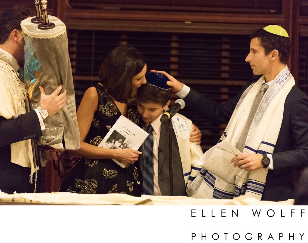 bar mitzvah torah service Old Oaks Country Club