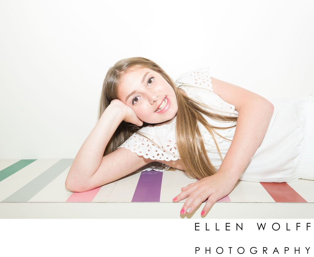 bat mitzvah photos at the color factory NYC