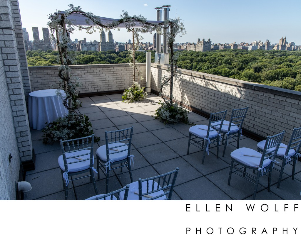 rooftop wedding during covid nyc