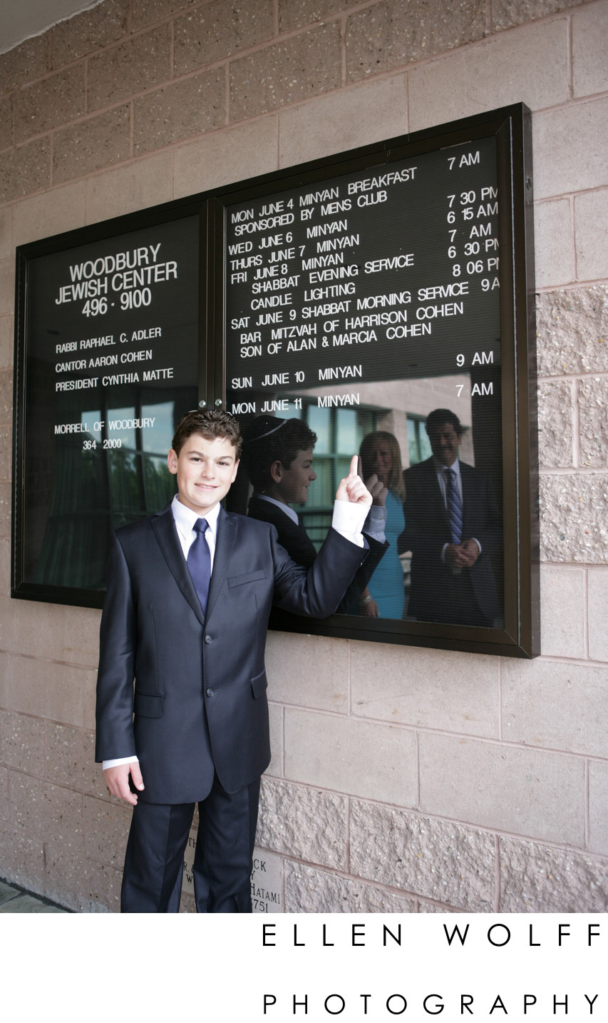 Woodbury JC Bar Mitzvah photographer