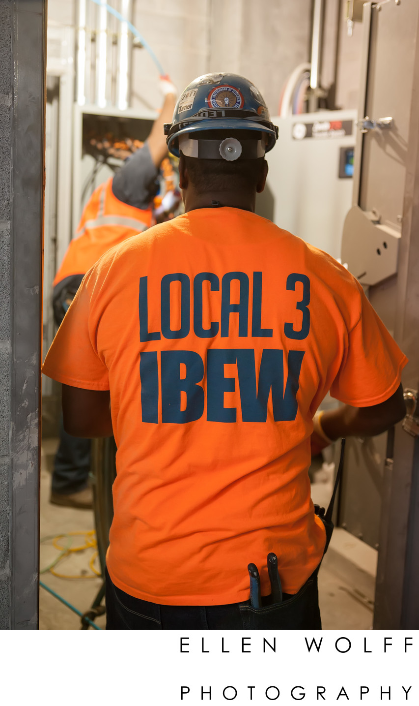 local 3 IBEW electricians workforce