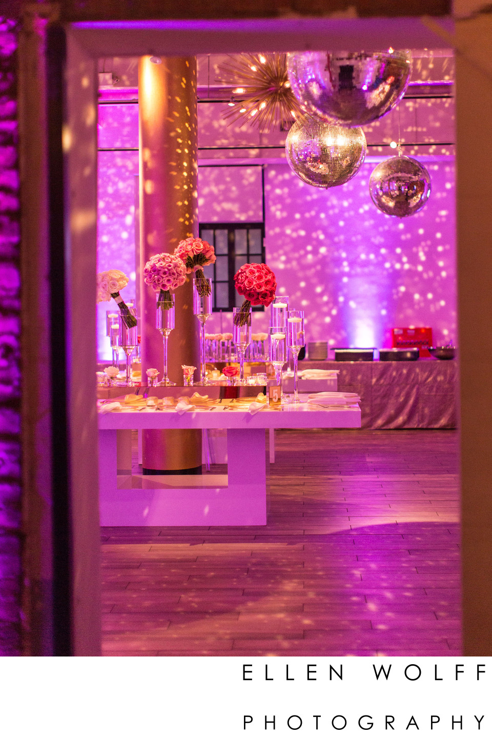 Union Park Events NYC Bat Mitzvah Decor