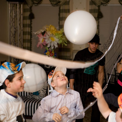 bar mitzvah volleyball