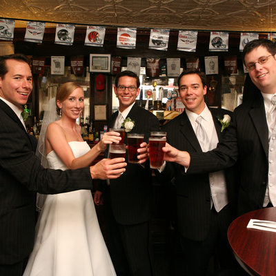 fun wedding photo cold spring ny