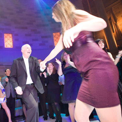 Fun dance photo at Gotham Hall