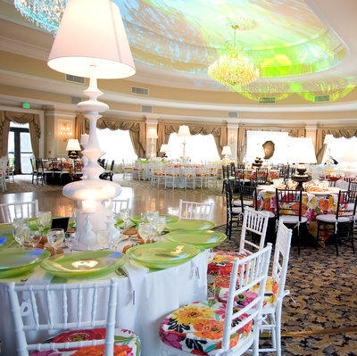 Oheka Castle Sweet 16 room decor