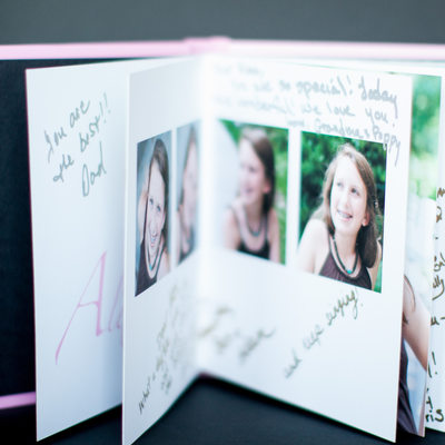 Bat Mitzvah guest book