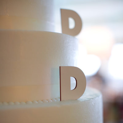 detail from a sweet 16 cake