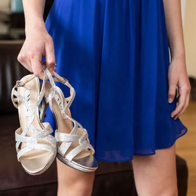 silver bat mitzvah party shoes