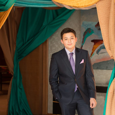Ritz Carlton White Plains bar mitzvah portrait photo