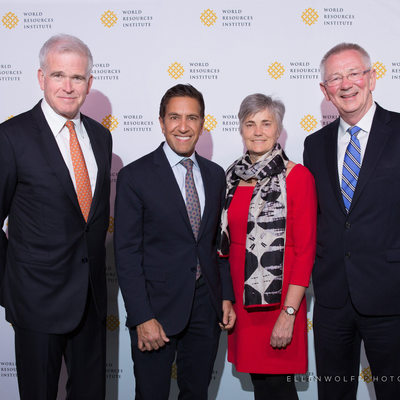 WRI 2019 Courage to Lead Dinner - step and repeat