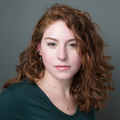 college student acting headshot