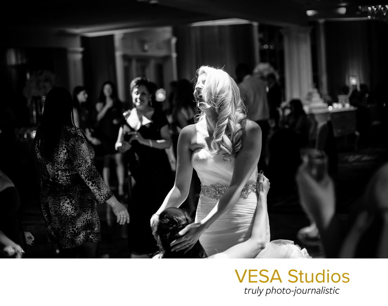 Bride dancing - Westmount country club