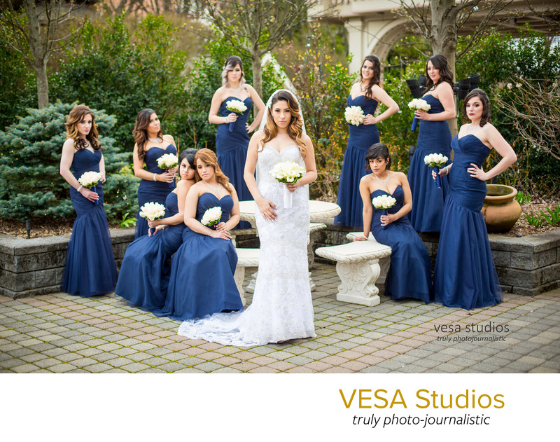 Bridesmaids at the Westmount Country Club