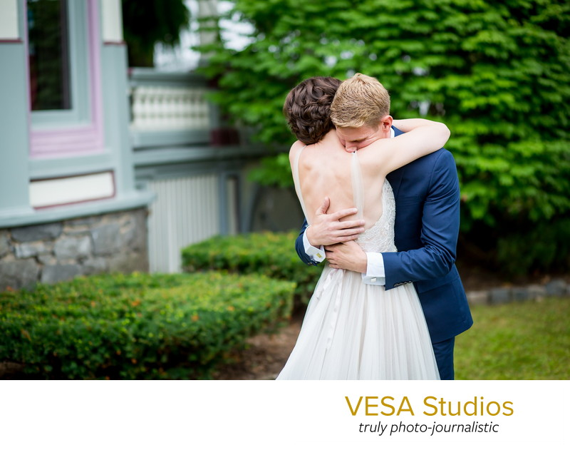 Saratoga Springs wedding at Batcheller Mansion