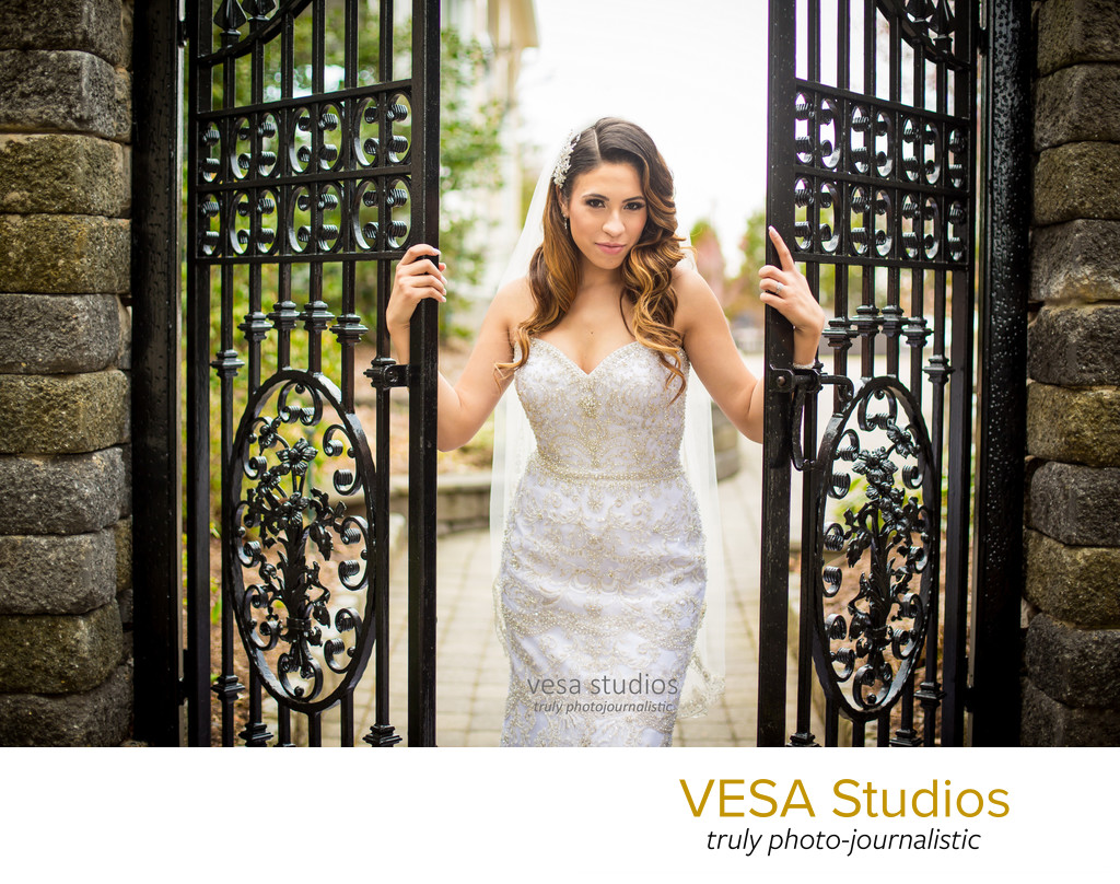 Fashion portrait - Westmount Country Club Wedding