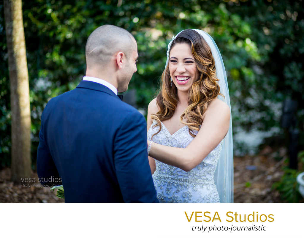 The Reveal (First look) - Westmount Country Club Wedding