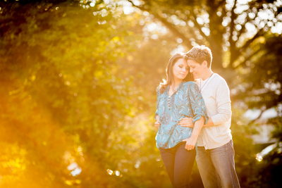Maplewood Memorial Park Engagement