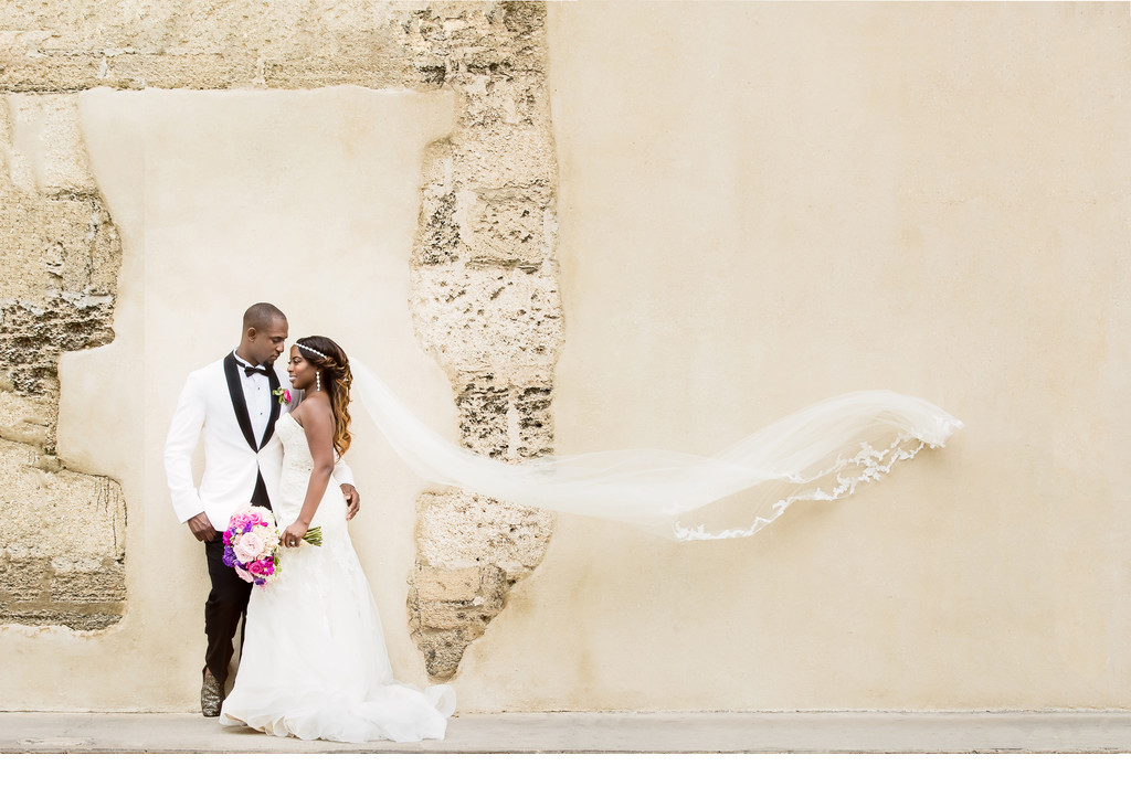 Beautiful Wedding Photo in St Augustine Florida
